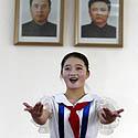 Šiaurės Korėjos mokinė