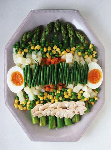 Daržovės, salotos