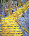Bronius_GRAZYS_Geltoni_laiptai_2003