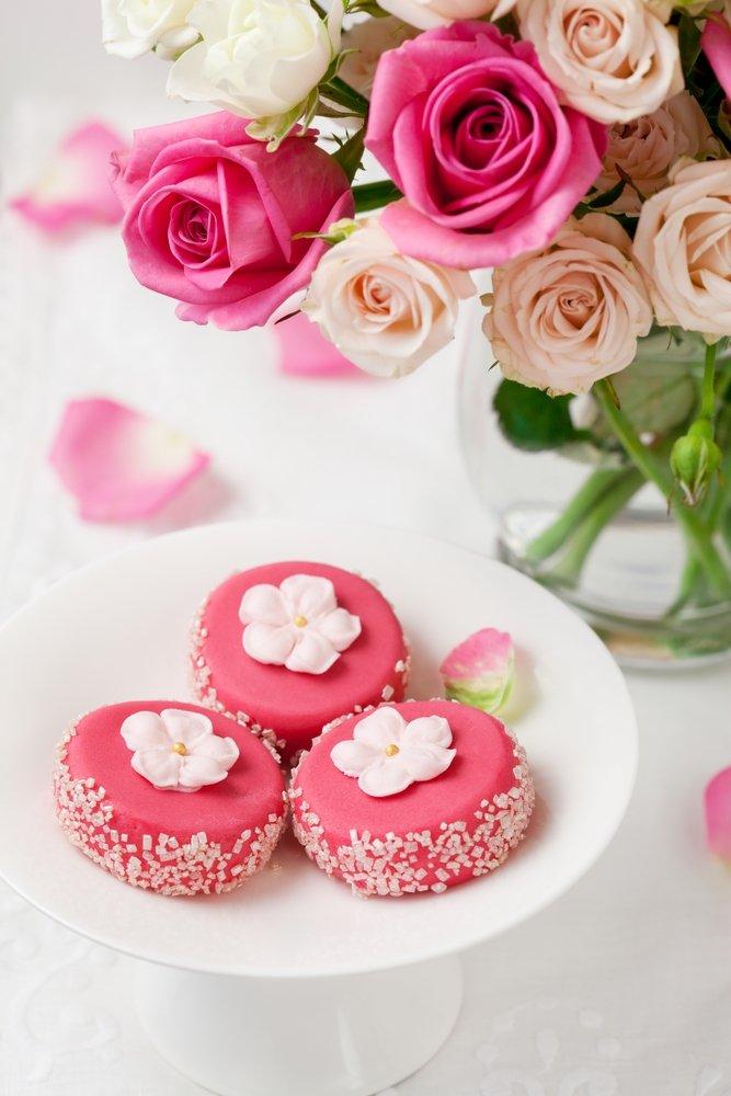 Цветы и сладости картинки 4