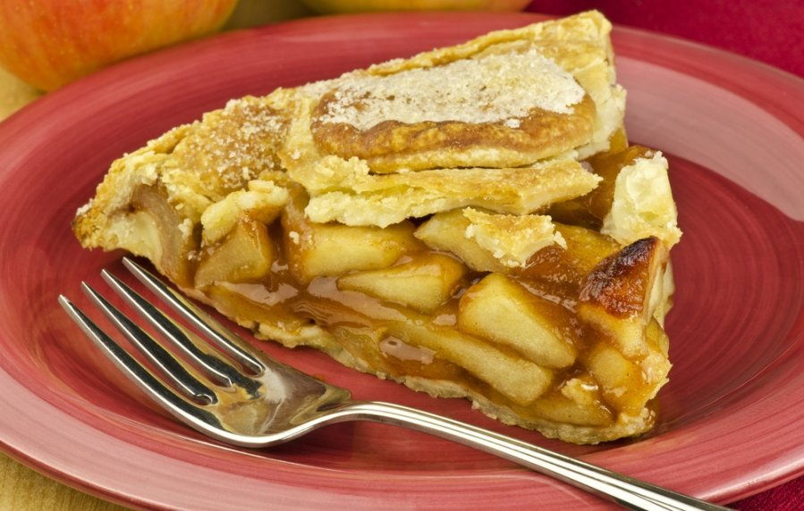 Яблочный пирог рецепт пошагово в домашних условиях простой