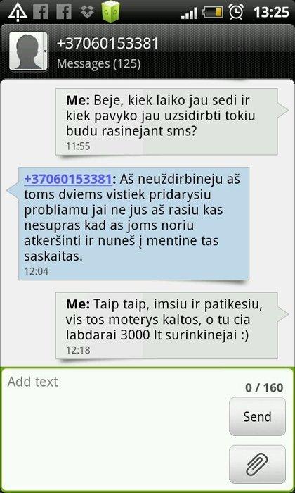 Kaip telefoninis sukčius iš Lukiškių už 3000 Lt gelbėjo mano neegzistuojančią dukrą