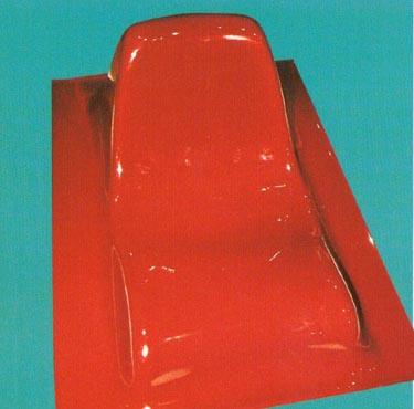 """Krėslas """"Groundfloor"""". Dizainas Aleksej Iskos"""