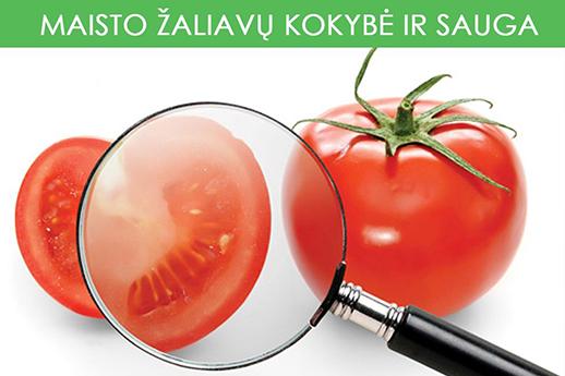 Maisto zaliavu kokybe ir sauga