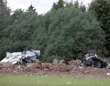 Šakių rajone sudužo Rusijos naikintuvas