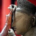 Deivės Durgos skulptūra