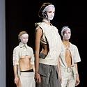 Rusų dizainerės Natašos Drighant modeliai per Maskvoje surengtą Mados savaitę.
