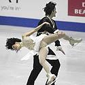 Marie-France Dubreuil ir Patrice'as Lauzonas (Kanada)