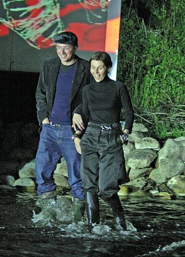 A.Pogrebnojus ir V.Simanavičiūtė