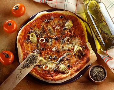 Itališkas maistas: pica