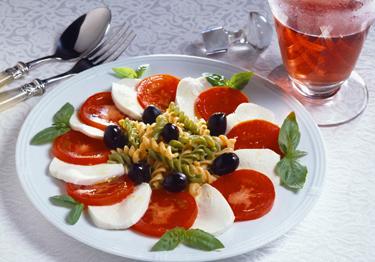 Itališkas maistas: mozarela