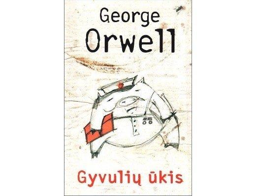 George'o Orwello knygos viršelis