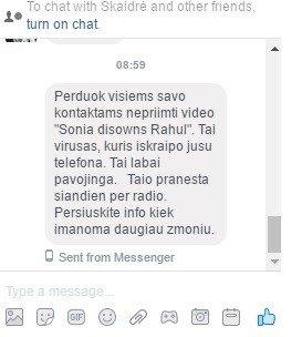 Ketvirtadienį Lietuvoje siuntinėjami gąsdinantys pranešimai