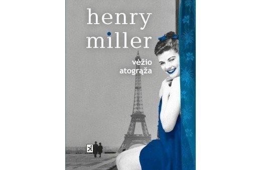 Henry Millerio knygos viršelis