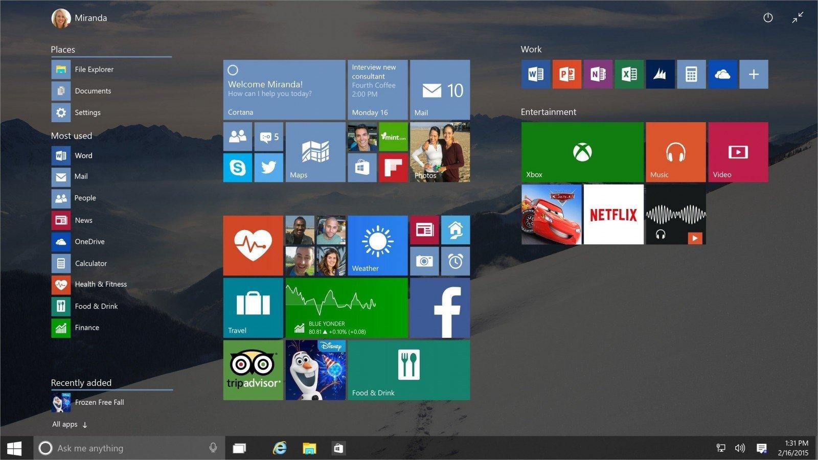 Naudojantiems Windows 10 kuri versij pasirinkti DELFI Mokslas