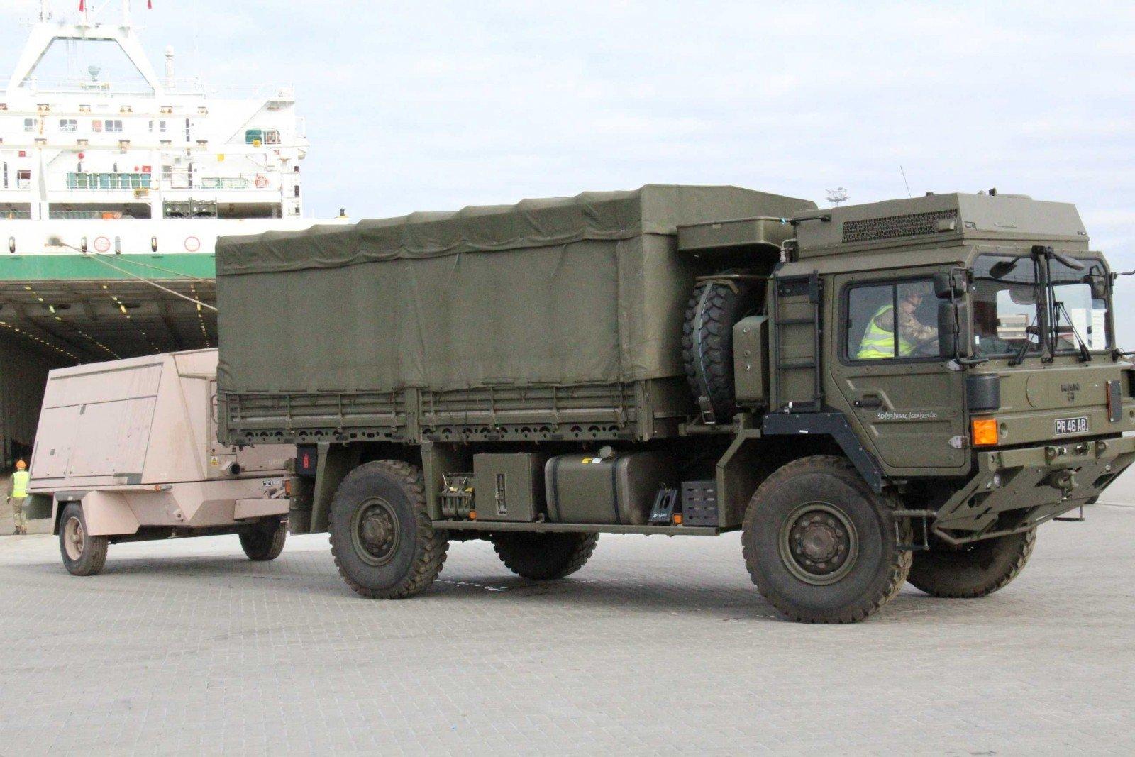 ВЛитву прибыли первые бельгийские и германские военные батальона НАТО