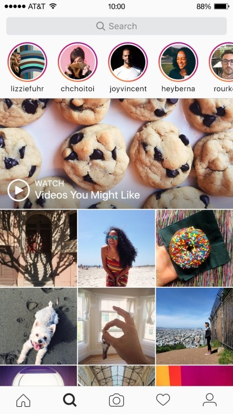 """""""Instagram"""" siūlys naujienas iš nesekamų paskyrų"""
