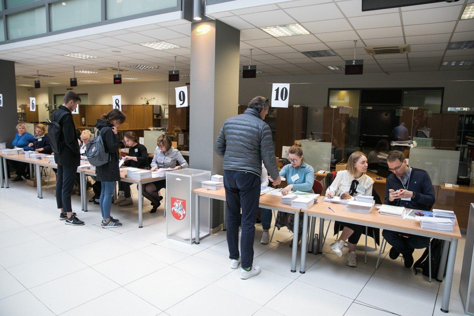 Во 2-ой  тур президентских выборов вЛитве выходят Науседа иШимоните