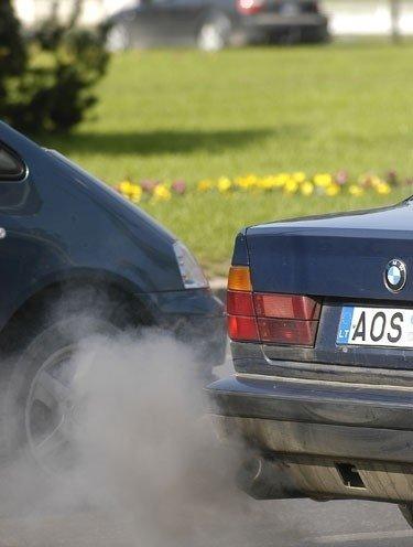 Išmetamosios dujos, aplinkos teršimas