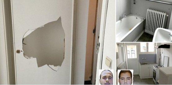 Teroro irštvoje: ką rado bute, kuriame buvo planuoti kruvini išpuoliai