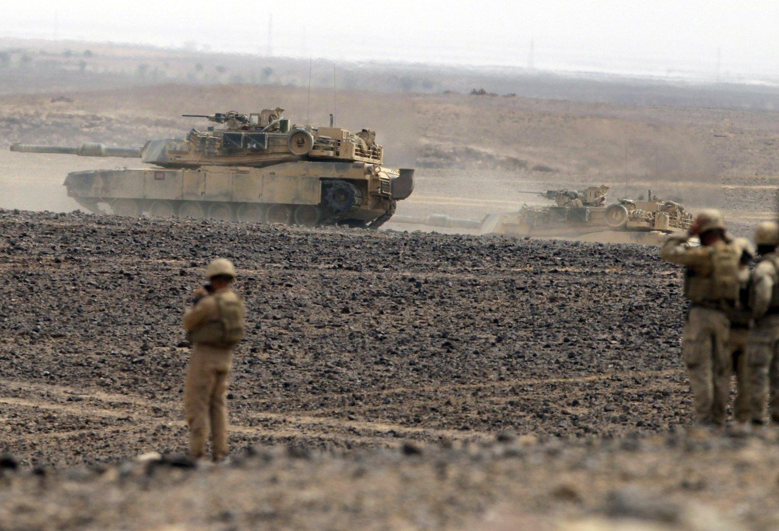 Пентагон представит план усиления военного присутствия на Ближнем Востоке