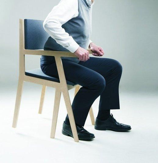 V. Vaitiekūnaitės sukurta kėdė
