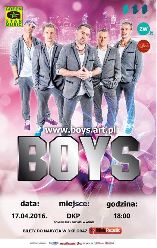 Koncert zespołu BOYS