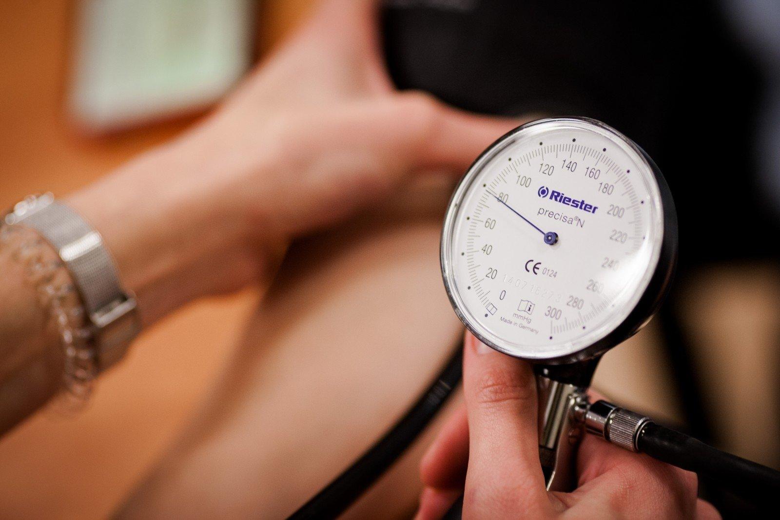 kaip prasideda hipertenzijos simptomai