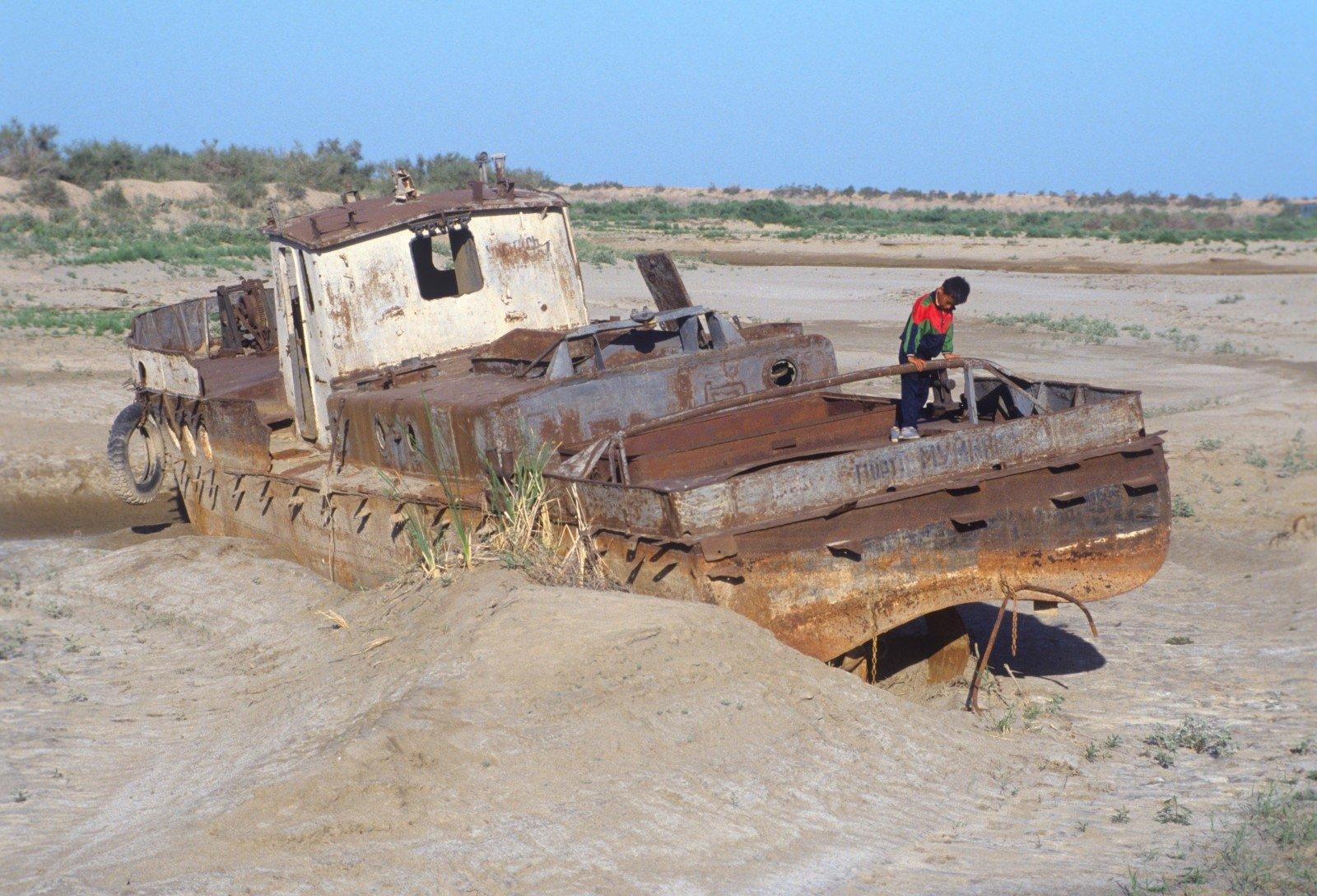 Laivai Aralo jūroje