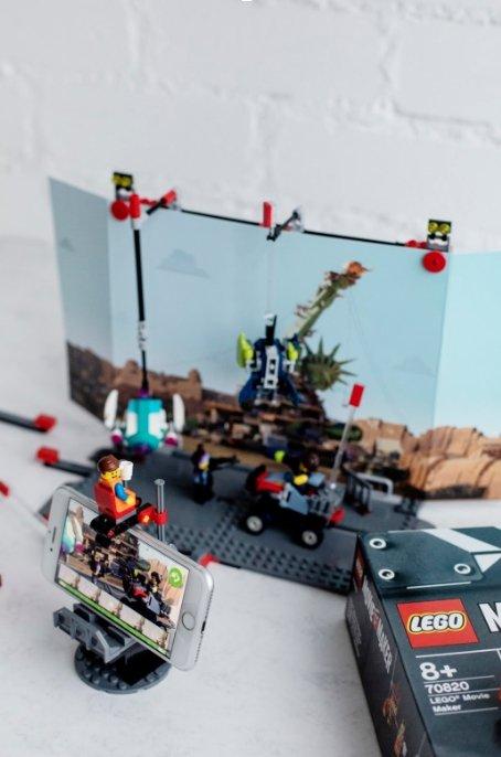 LEGO sėkmingai papildė rinkinius integruodami virtualią realybę