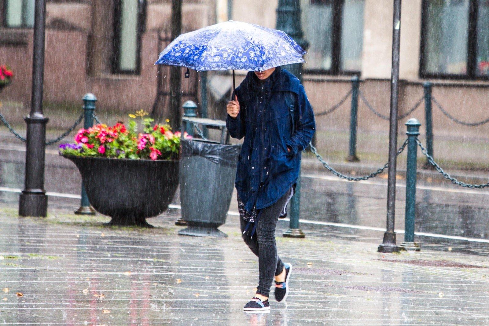 картинки погоды с людьми пошаговые