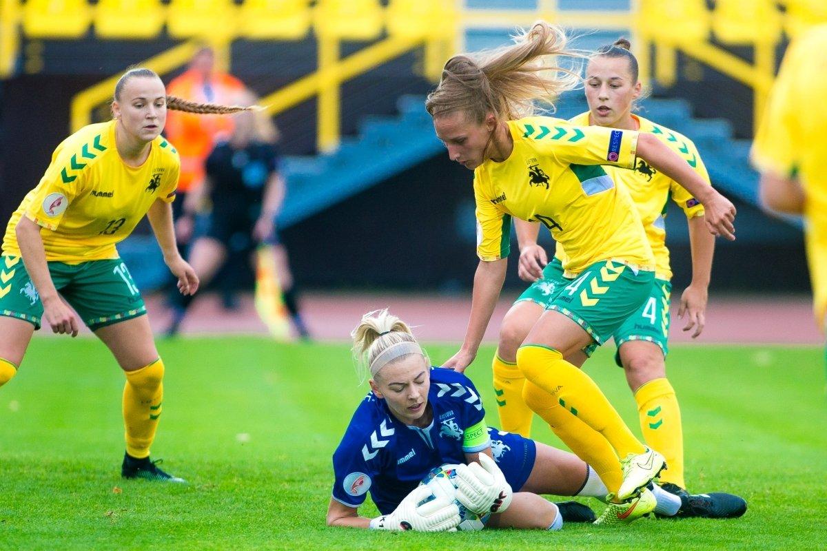 Pasaulio čempionato atrankoje lietuvės neprilygo Rumunijos rinktinei - DELFI