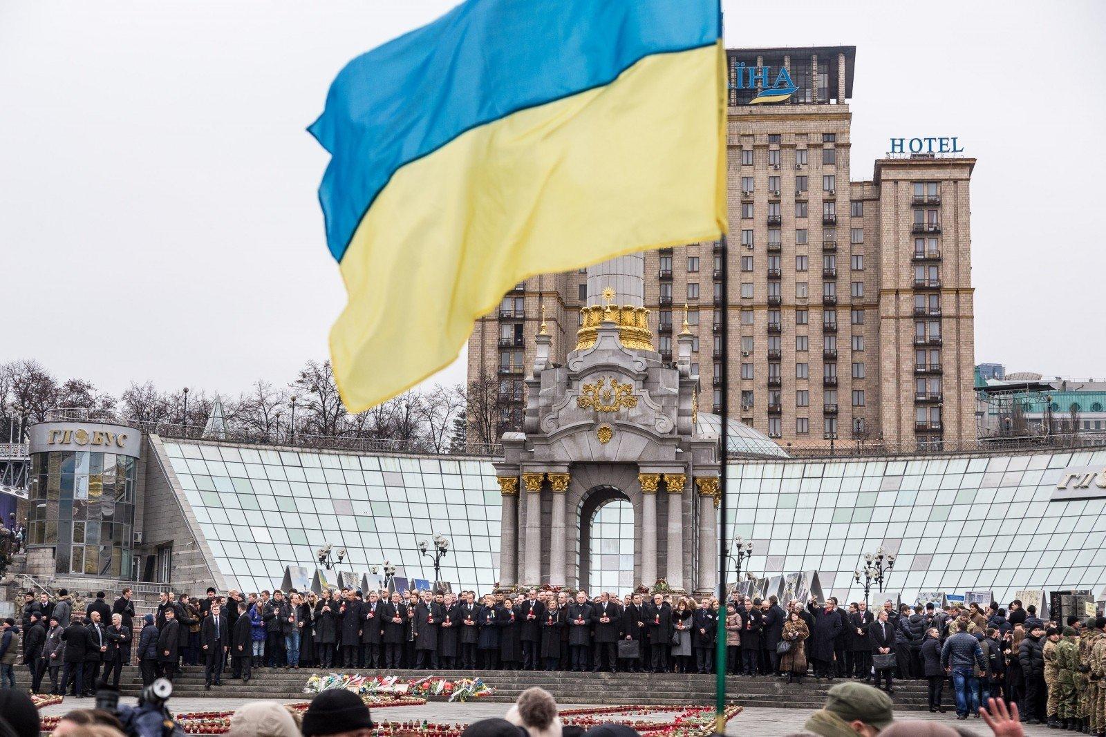 63 процента россиян хотят добрых отношений снезависимой Украиной