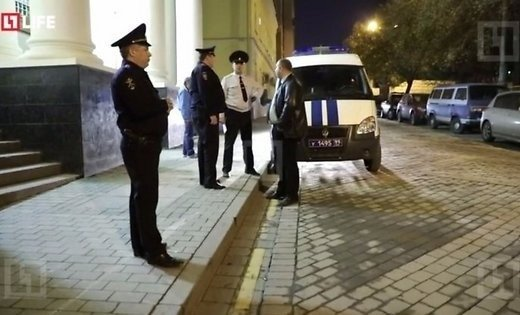 Милиция возбудила уголовное дело после нападения насинагогу в российской столице