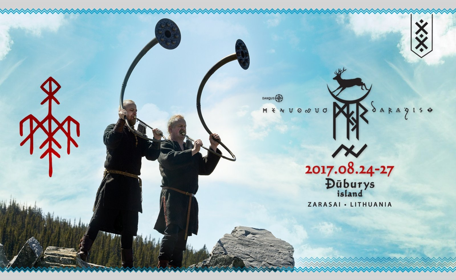 20th fable of Mėnuo Juodaragis tells of God of Thunder and