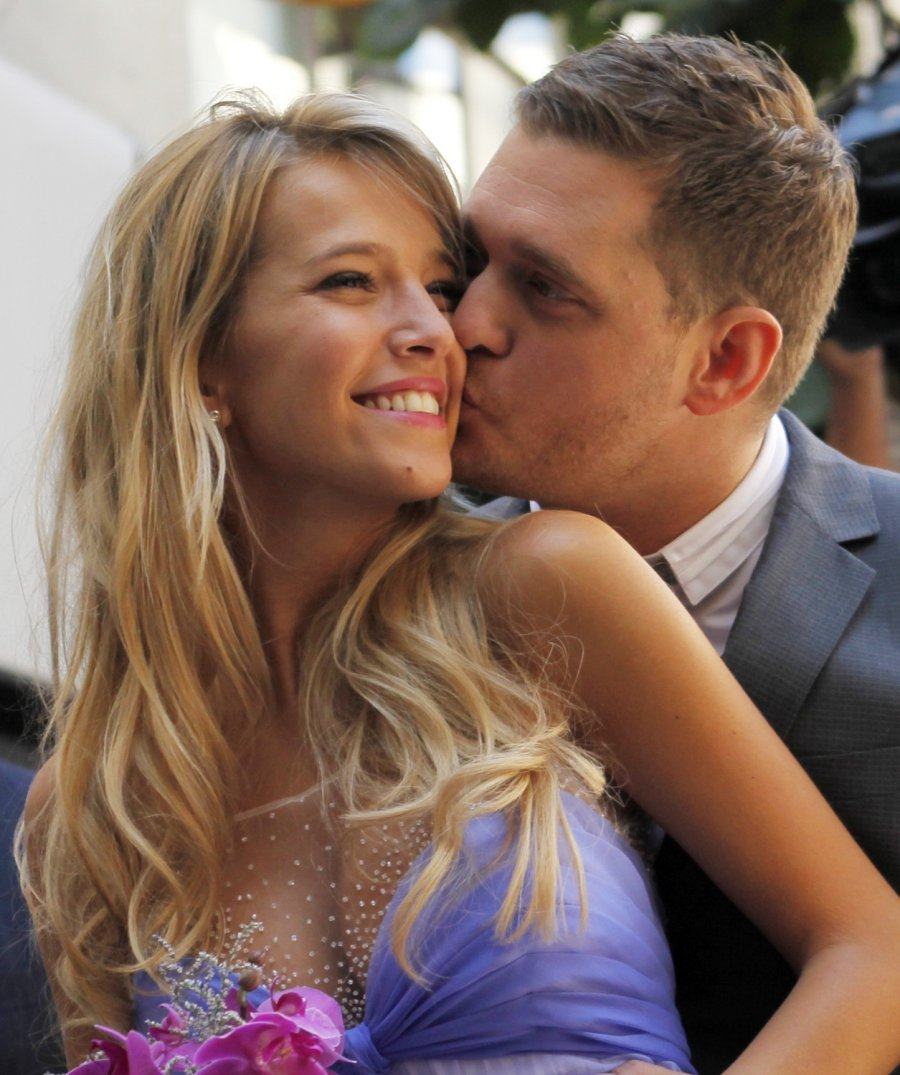 michael buble dating steven fosters daughter