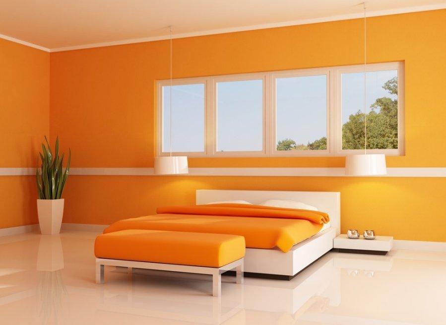 Miegamasis kambarys oran in s spalvos oaz - Cromoterapia camera da letto ...