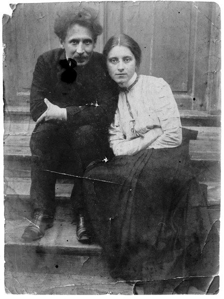 M.K.Čiurlionis and his wife Sofija