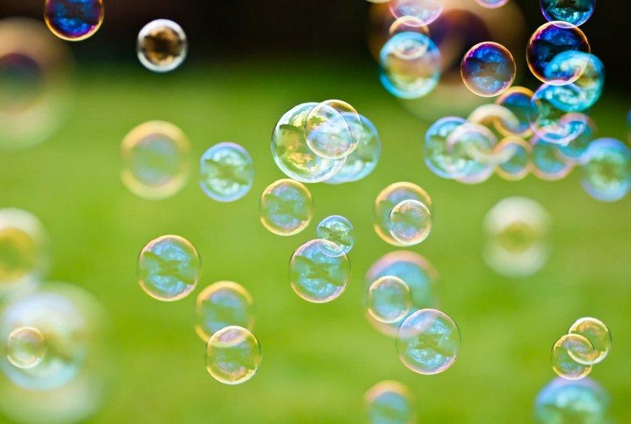 фон мыльные пузыри для презентации