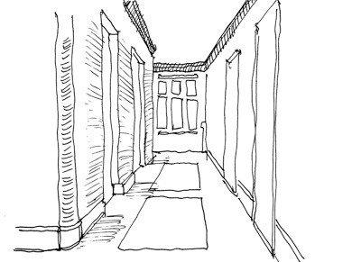 """Tradiciniai koridoriai sklidini natūralios šviesos, o daugybė vizualiai įdomių modelių užtikrina gydomąjį aplinkos efektą, kelia pozityvius jausmus: """"Ši erdvė tokia jauki, kad labiau norėčiau joje būti, užuot per ją tiesiog perėjęs."""""""