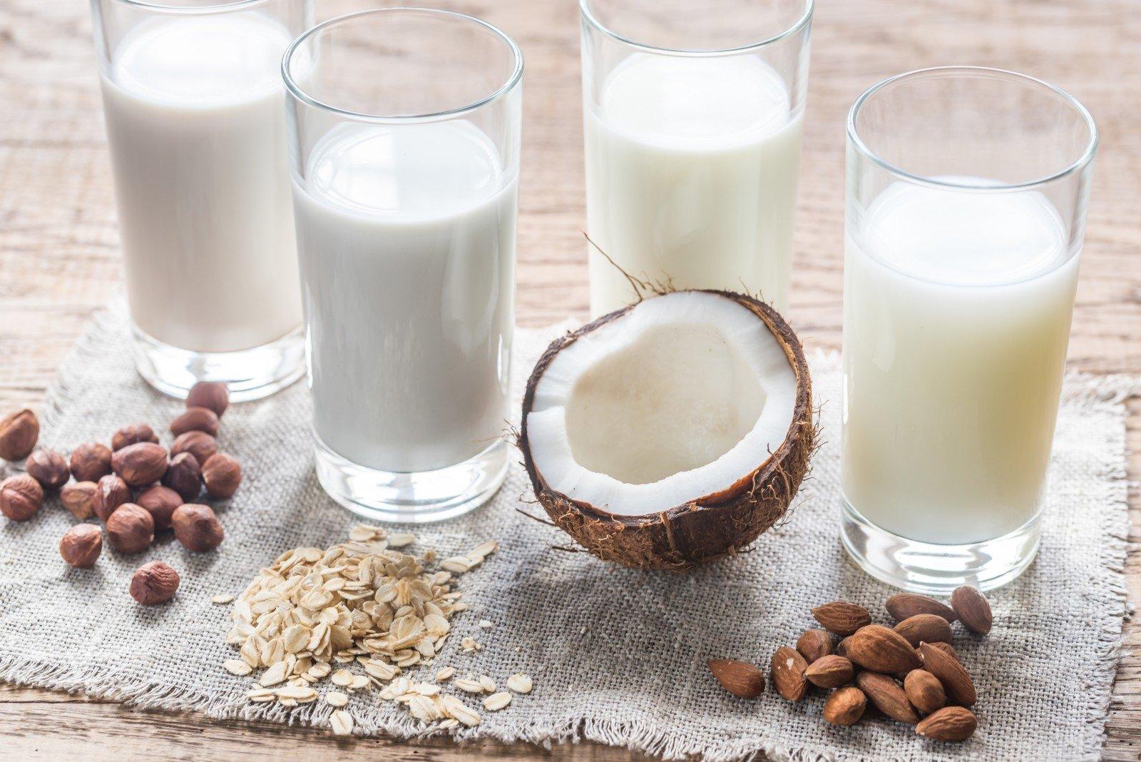 širdies sveikatos migdolų pienas)