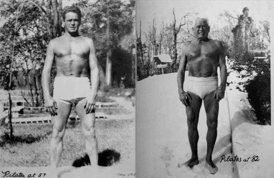 Pilatesas 57 ir 82 metų amžiaus