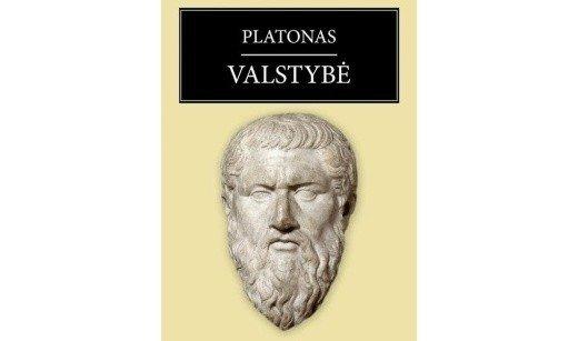 Platono knygos viršelis
