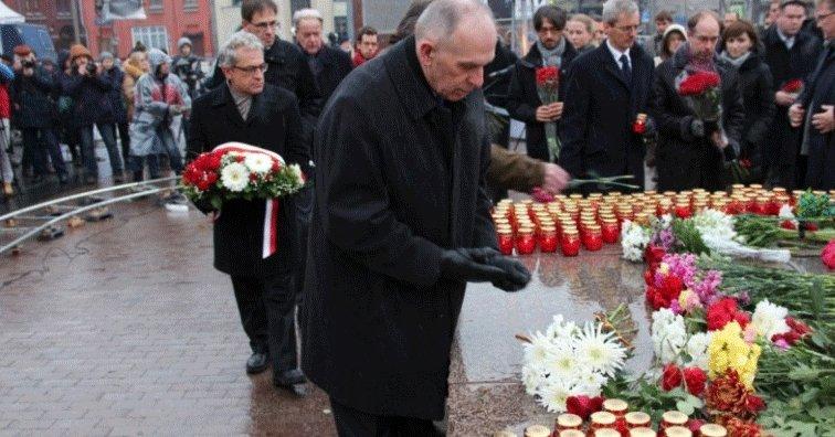 Память жертв политических репрессий почтили вВеликом Новгороде