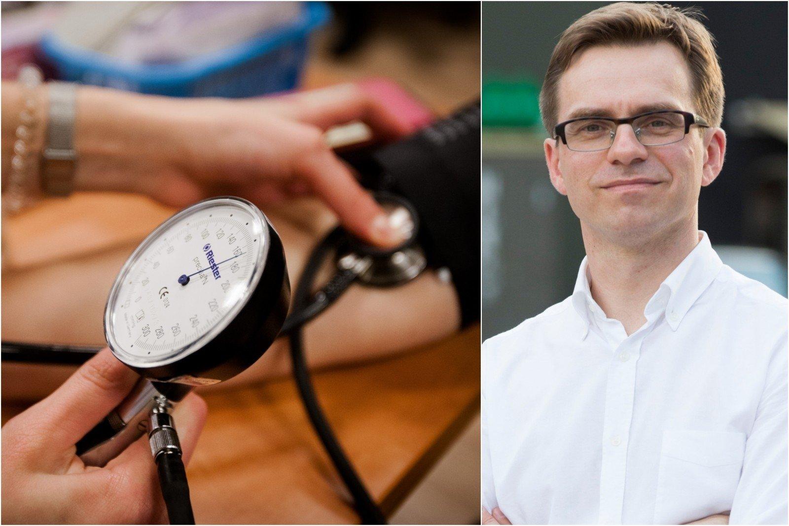 koks kraujospūdis gali būti laikomas hipertenzijos požymiu