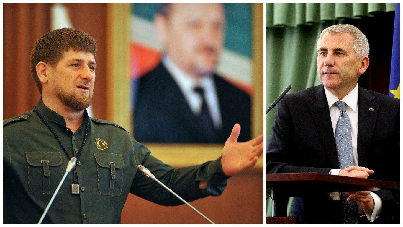 Кадыров: важен выбор президента России покандидату напост главы Чечни