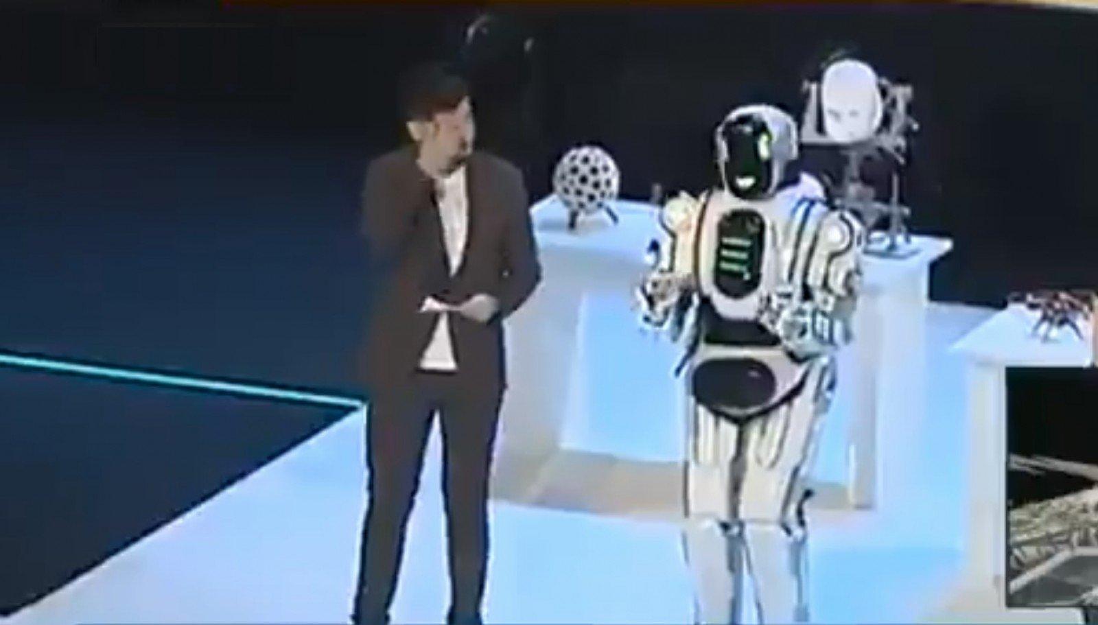Секс с виртуальным роботом
