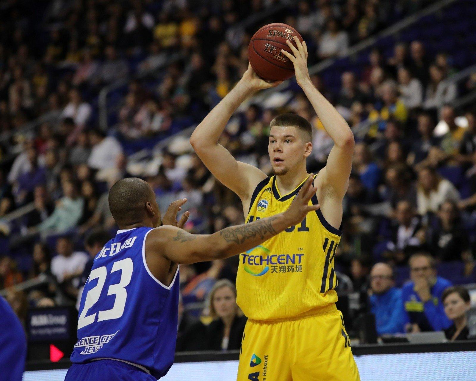 Giedraitis svariai prisidėjo prie ALBA pergalės - Krepšinis.lt