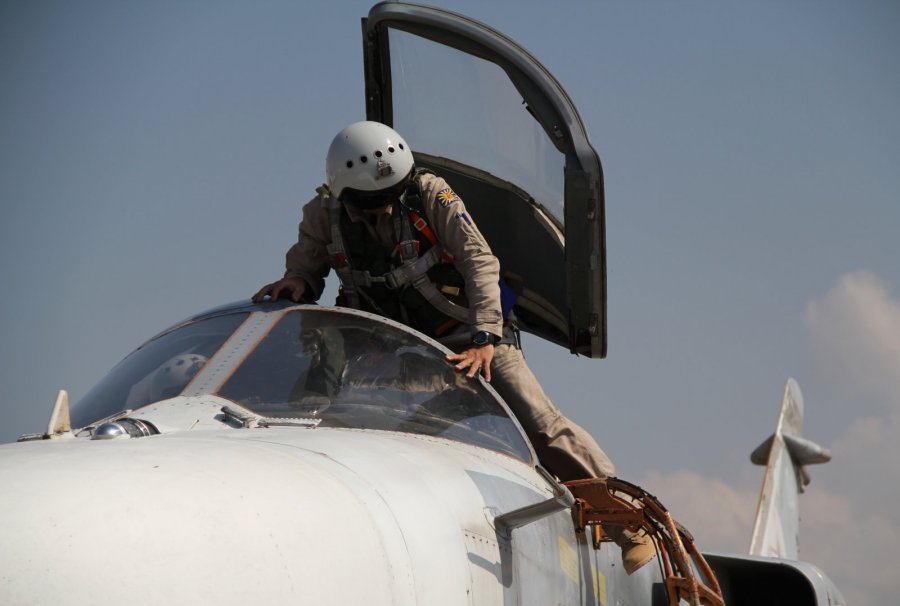 второй пилот су-24 спасен