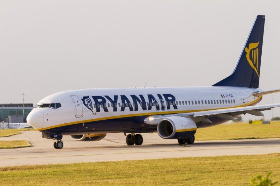 Ryanair skambuciu centras